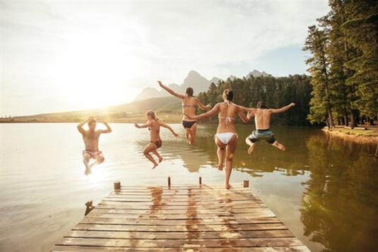 Vasaros pramogos savaitgalio kelionėms