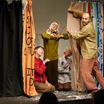 Teatro ATVIRAS RATAS spektaklis vaikams