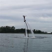 Skrydis vandens skraidykle DVIEM + pirtelė