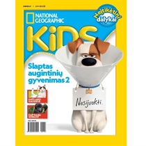"""National Geographic KIDS"" prenumerata"