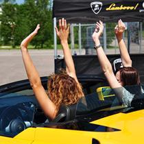 """Bernvakaris / mergvakaris su """"Lamborghini"""""""