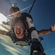 Tandeminis šuolis parašiutu Pociūnuose