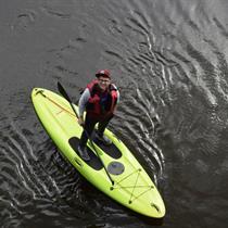 Plaukimas irklente Vilniuje arba Trakuose