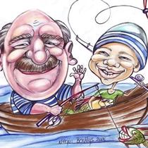Draugiški šaržai ir karikatūros