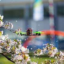 Dronų pilotavimo pamoka