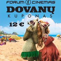"""Forum Cinemas"" kino kuponas (12 Eur)"