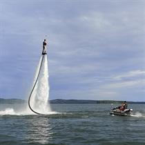 Skrydis vandens skraidykle GRUPEI + pirtelė