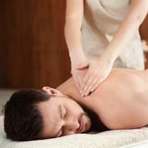 Nugaros, pečių ir kaklo masažas vyrams