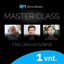 """MasterClass"" seminaras"