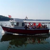 Kruizas laivu grupei po Kauno marias