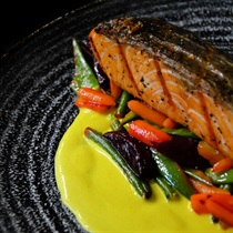 Vakarienė restorane X.O. Distilery