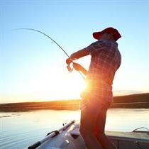 2 val. žvejyba iš laivo Kauno mariose