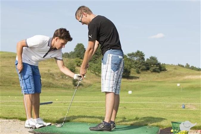 Pažintinė golfo pamoka grupei