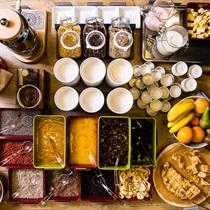 Švediško stalo pusryčiai dviem