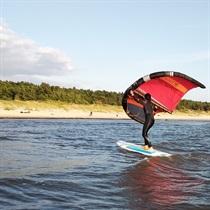 """Pasiplaukiojimas """"Wing surfer"""""""