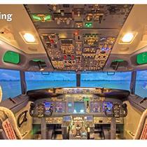 Pilotuok realaus skrydžio simuliatorių