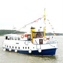 """Kruizas Kuršių mariose laivu """"Forelle"""""""