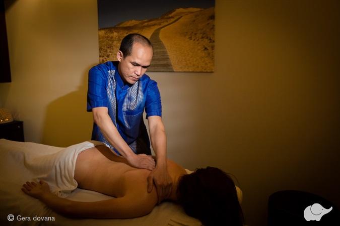 Tailandietiškas nugaros ir galvos masažas