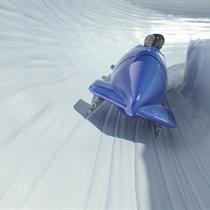 Ekstremalus pasivažinėjimas bobslėjaus trasa