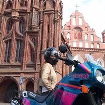 Ekskursija motociklu po Vilniaus apylinkes