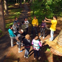 Kolektyvo formavimas nuotykių parke