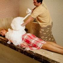 Turkiškas hamamo procedūrų ritualas