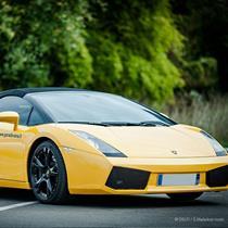 """Dvigubink su """"Lamborghini Gallardo"""" 3 ratus"""