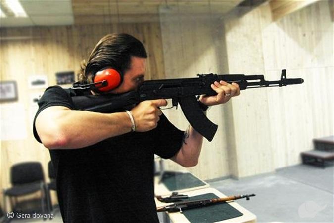 Šaudymas iš kovinių ginklų Vilniuje