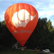 Romantiškas skrydis oro balionu dviem