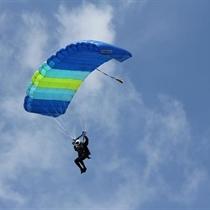 Šuolis sparno tipo parašiutu Vilniaus r.