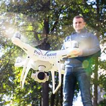 Išmok skraidinti profesionalų droną!
