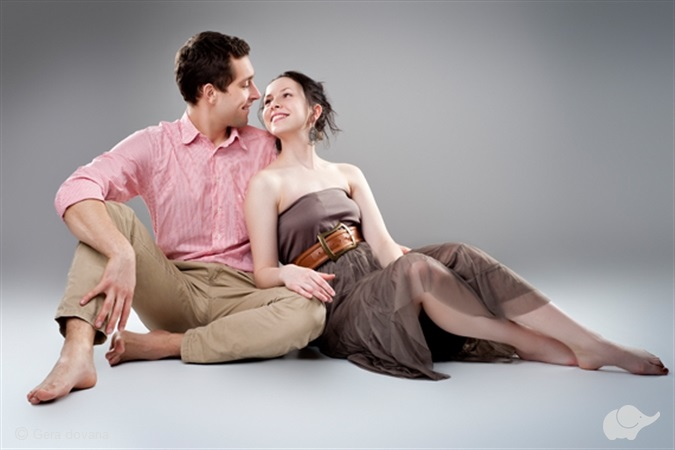 Romantiška fotosesija dviem Vilniuje