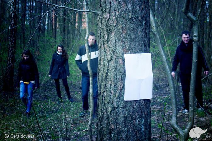 Paklaidinimas miške