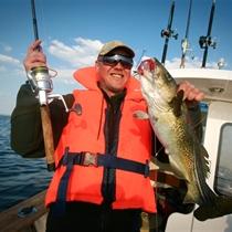 Visos dienos žvejyba Baltijos jūroje