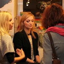Ekologiško makiažo pamoka Vilniuje grupei