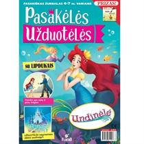 Žurnaliuko prenumerata PASAKĖLĖS UŽDUOTĖLĖS