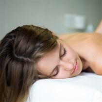 Limfodrenažinis masažas aparatu