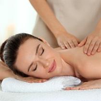 Gydomasis pečių juostos ir nugaros masažas