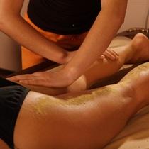 Liekninantis Shanti UDVARTANA kojų masažas