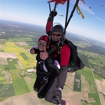 Tandeminis šuolis parašiutu + filmavimas