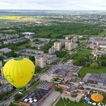 Skrydis oro balionu virš Žemaitijos