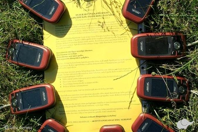 """Žaidimas """"GPS iššūkis: infoeros legenda"""""""