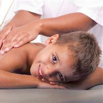 Vaikiškas masažas SHANTI