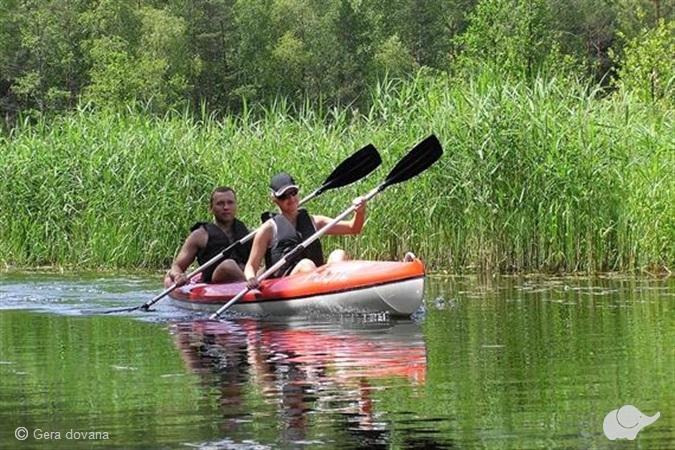 Žygis baidare, kanoja arba valtimi po Aukštaitijos parką
