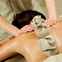1,5 val. masažas su gintaro maišeliais
