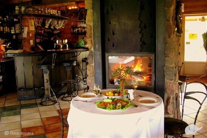 Nakvynė su romantiška vakariene ir SPA