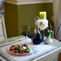 Romantiška vakarienė Bistrampolio dvare