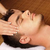 Antistresinis veido masažas vyrui