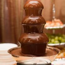 Šokolado fontanas šeimai
