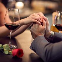 Romantiška vakarienė gruziniškame restorane
